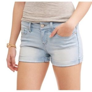 No Boundaries Essential Soft Touch Denim Shorts